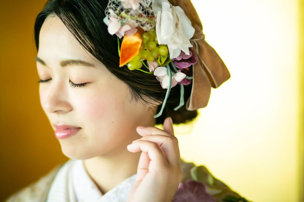 やはり着物姿は日本人にぴったりな晴れ姿ですし、なによりご年配の方には喜ばれますね。