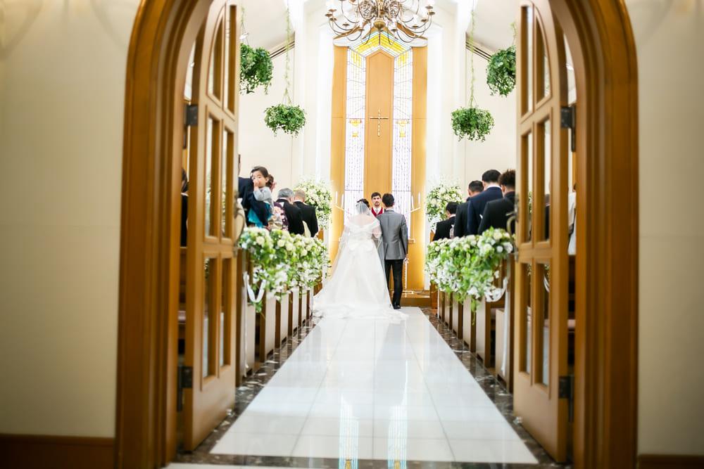 結婚式場を選ぶとき