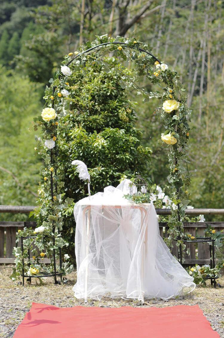 様々な場所で結婚式をすることが可能